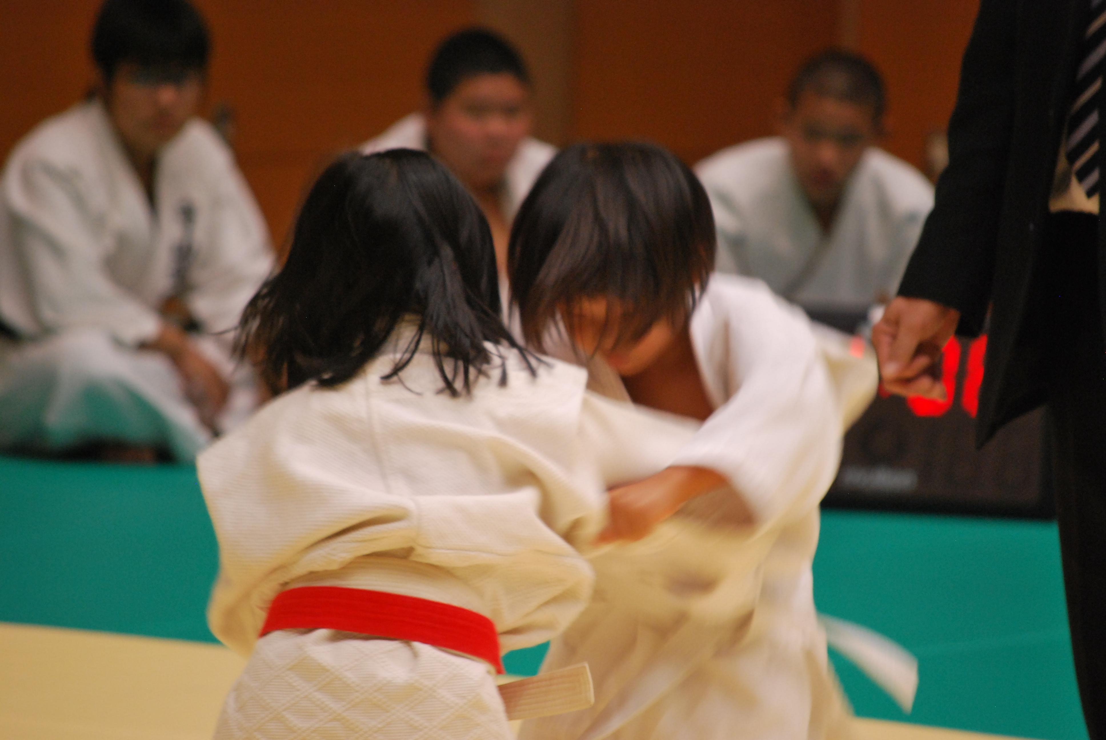 柔道女子だったオーナー菜穂子は今も柔道家、そして娘も。
